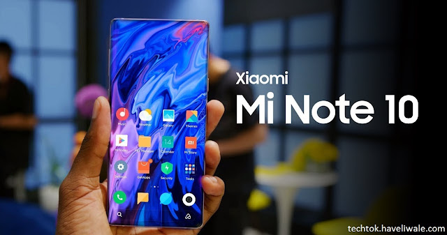 Xiaomi Mi Note 10 Specifications, Price, Release Date