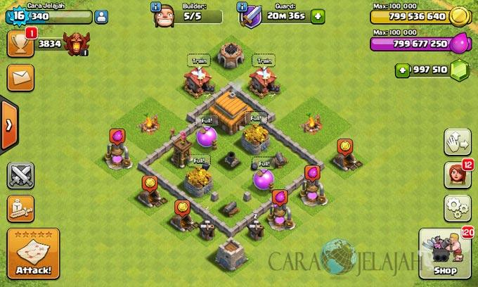 Desain Base Town Hall 3 Terbaik Dan Terbaru Clash Of Clans 24