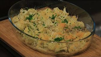 طريقة عمل قرنبيط بالجبنة البارميزان مع أميرة شنب في أميرة في المطبخ