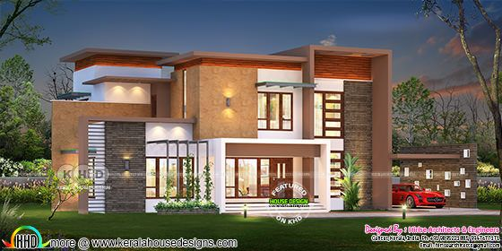 3180 square feet 5 BHK house plan