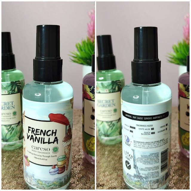 Careso Body Fragrance, Aromanya Ciptakan Kata-Kata Kenangan