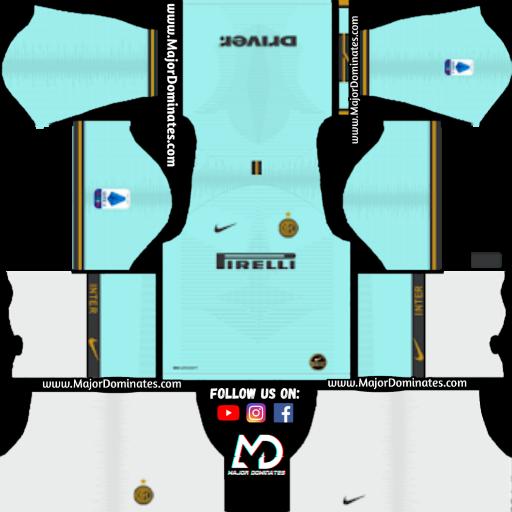 first rate 45f01 9d183 Inter Milan 2019-20 Dream League Soccer Kits - DLS 19