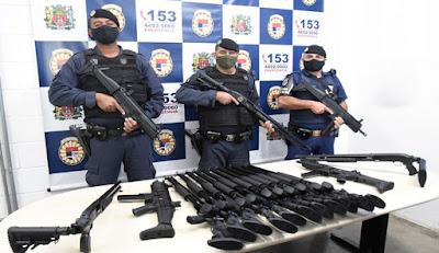 Guarda Municipal de Jundiaí fortalece a corporação com novos armamentos