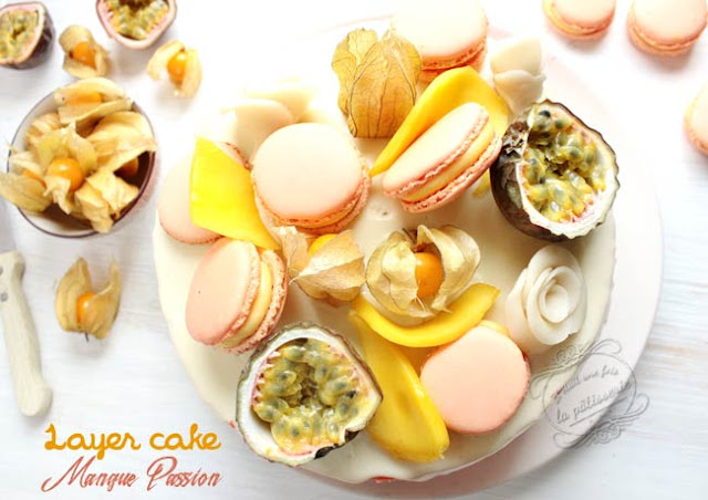 patisserie mangue passion exotique