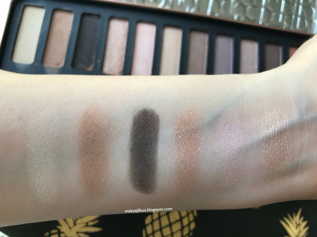 W7 Beat It! Natrural Nudes Far Paleti Swatch