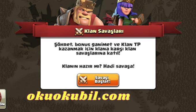 Clash of clans v13-576-713.576.7 Mod Apk Private server İndir