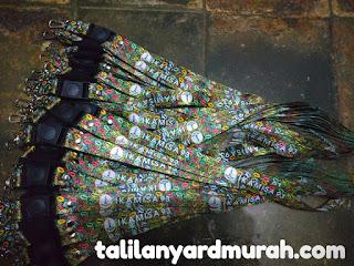 Tempat cetak tali lanyard kualitas terbaik dan harga terjangkau di Jakarta