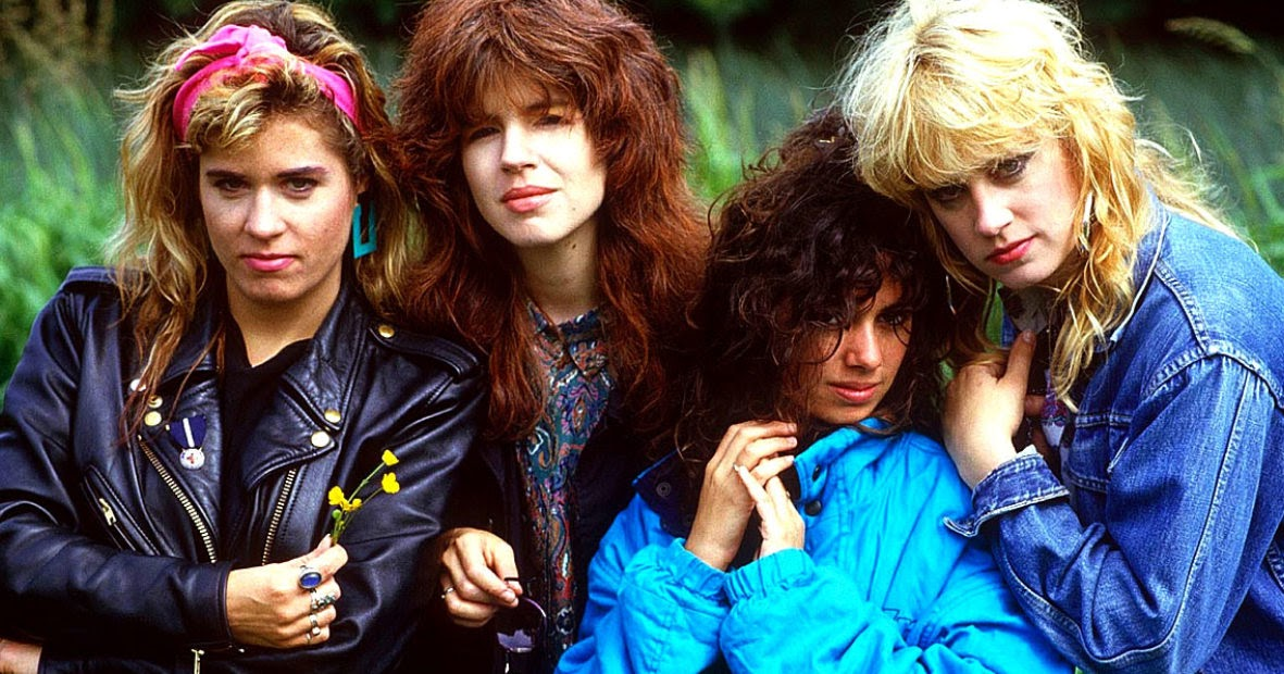 30 fascinating photos of the bangles in all their 80s