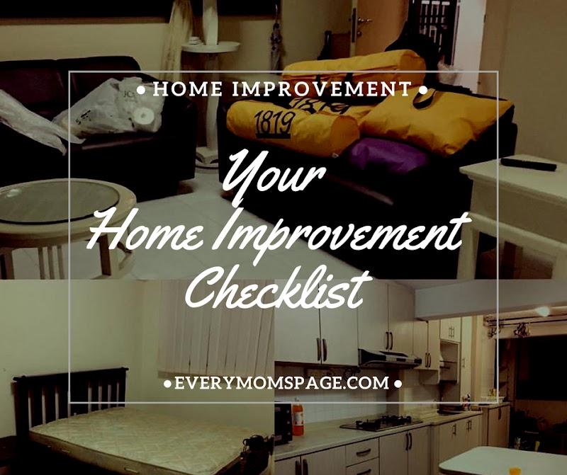 Your Home Improvement Checklist