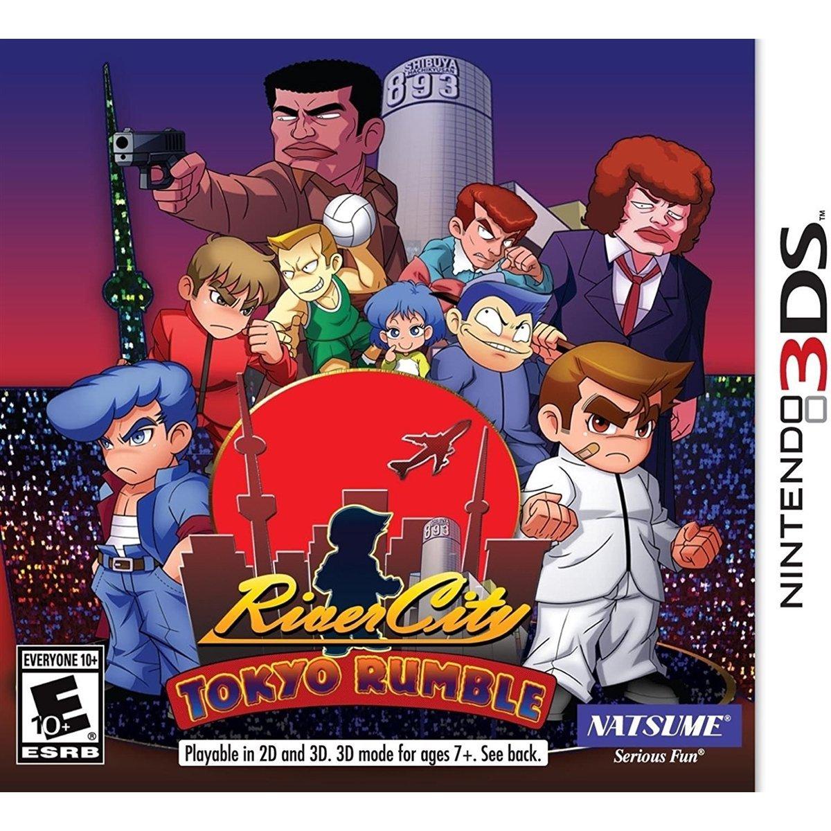 River City: Tokyo Rumble | Download 3DS CIAs
