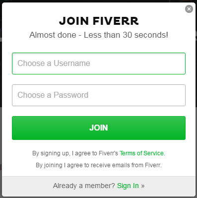 What is Fiverr? Fiverr Sign Up