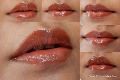 L'Oréal Paris Shine Caresse Gloss Pretty Woman swatch