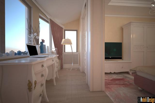 Design interior case stil clasic de lux - Amenajari interioare vile Tandarei