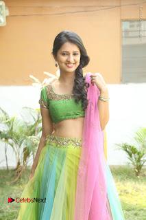Actress Nikitha Bisht Stills in Lehenga Choli at Pochampally Ikat Art Mela Launch  0122.JPG