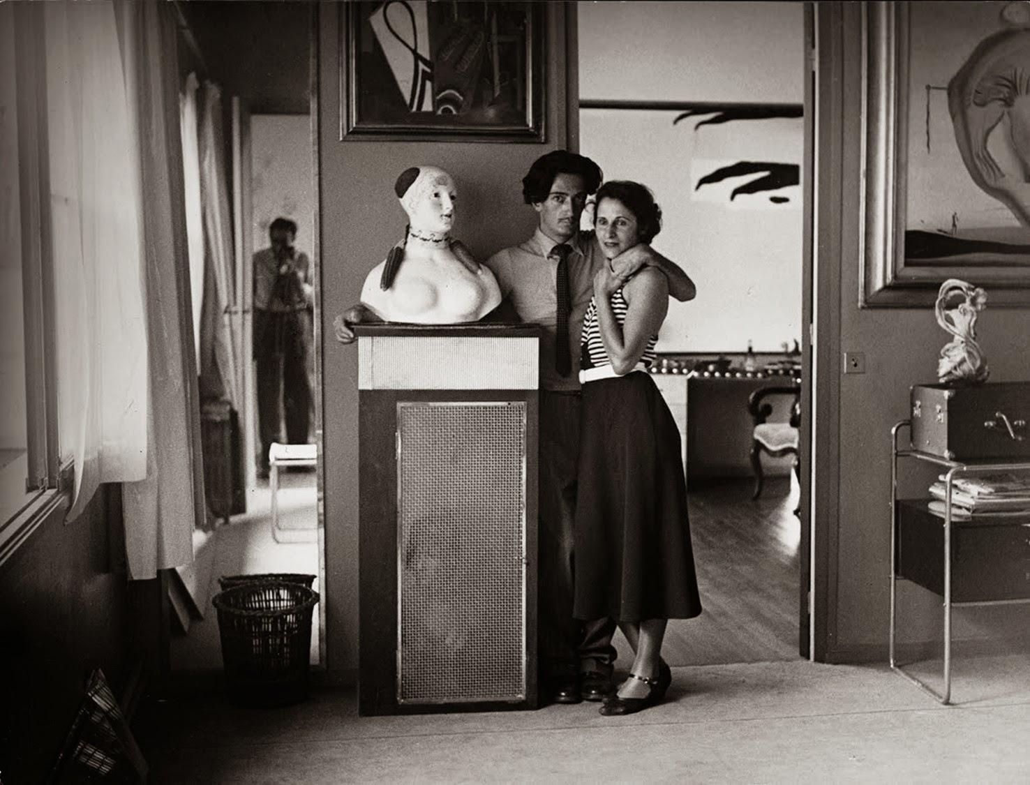Brassaï, ritratto di Dali e Gala