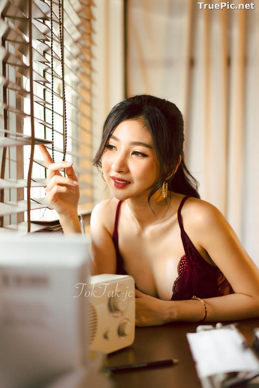 Image Thailand Model - Pattamaporn Keawkum - Red Plum Lingerie - TruePic.net - Picture-5