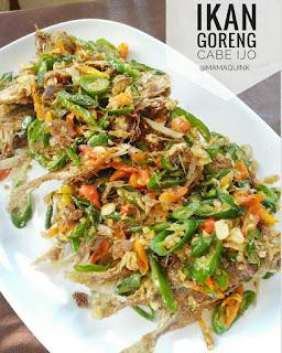 Resep Ikan Goreng Cabe Ijo Sederhana Enak By @Mamaquink