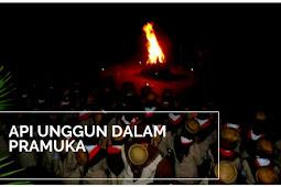 Api Unggun Dalam Pramuka; Pengertian Api Unggun, Sejarah, Fungsi Dan  Upacara Api Unggun