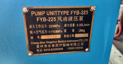 FYB-225 FYB 225 CHANG ZHOU YONG CHUN MACHINERY