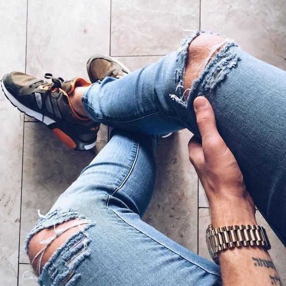 calças jeans rasgada masculina (6)