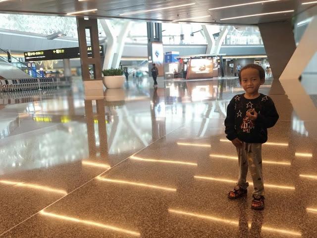 Pengalaman Transit di Bandara Hamad International Airport Doha Qatar