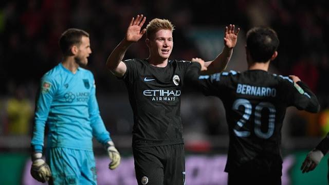 Piala Liga Inggris: Depak Bristol, City Melangkah ke Final