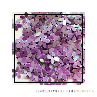 Luminous Lavender Petals