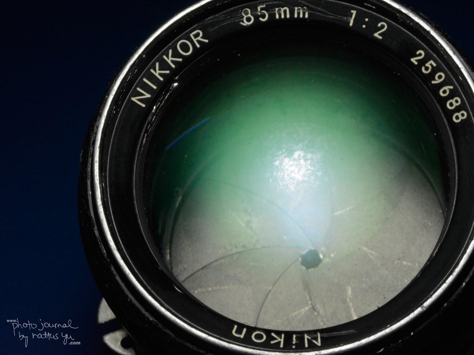 Nikko 85mm f/2 AI