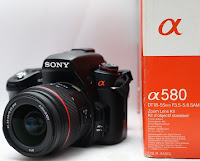 Jual DSLR Sony Alpha a580 2nd