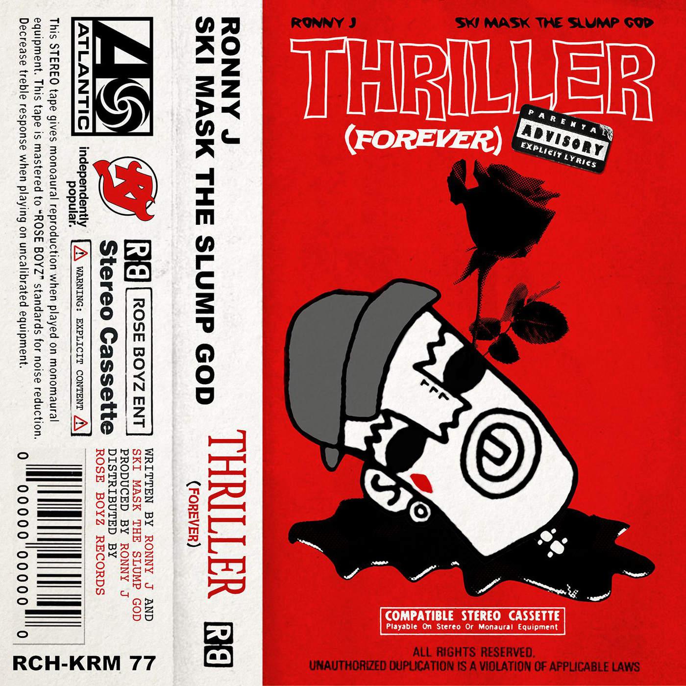 Ronny J - Thriller (Forever) - Single Cover