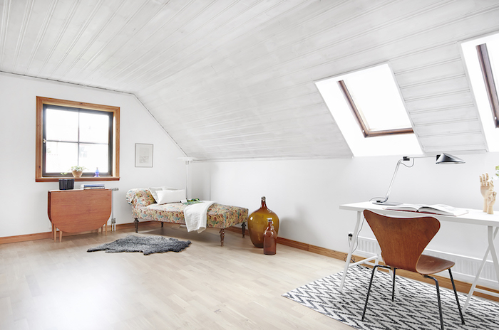 Casa de campo para soñar- buhardilla