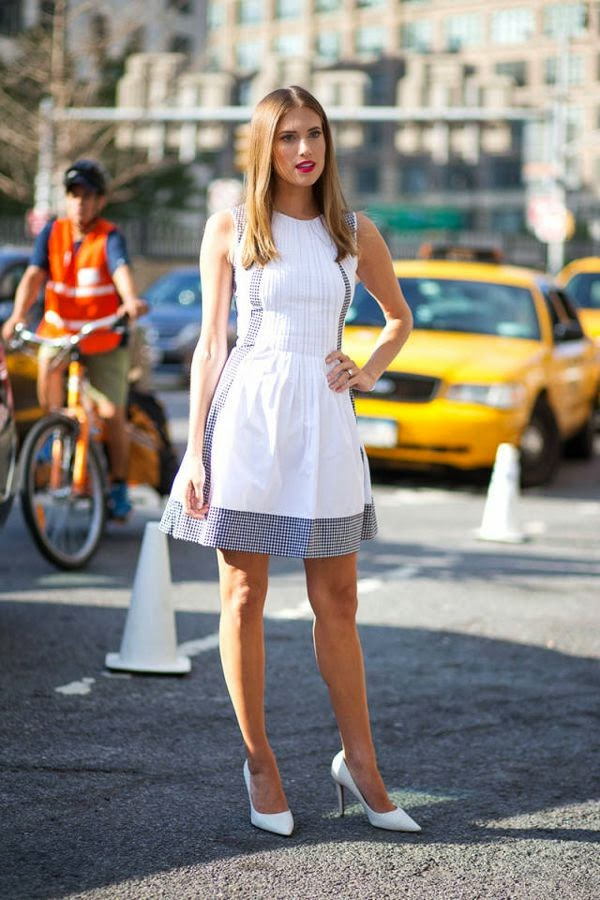 Looks em Preto e Branco - Moda de Rua (Streetstyle)