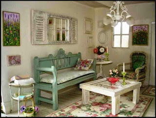 Popular Shabby Chic Paint Color