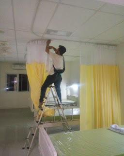 Tirai Rumah Sakit Deden Decor
