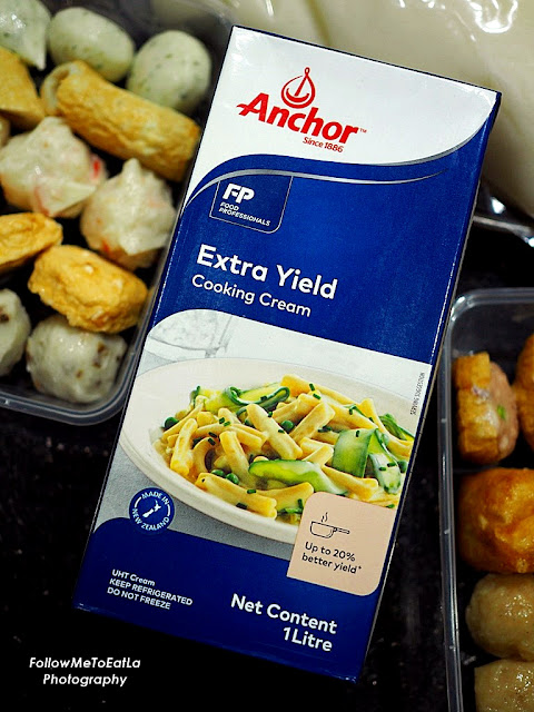 ANCHOR FOOD PROFESSIONALS ~ Elevate Your Chinese New Year Hot Pot With Anchor Extra Yield Cooking Cream