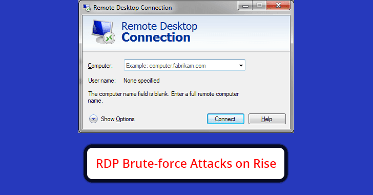 RDP Brute-force Attacks