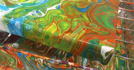 Acrylic Paint Pouring...
