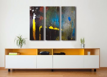 abstract, contemporary, wall art, canvas art, canvas print