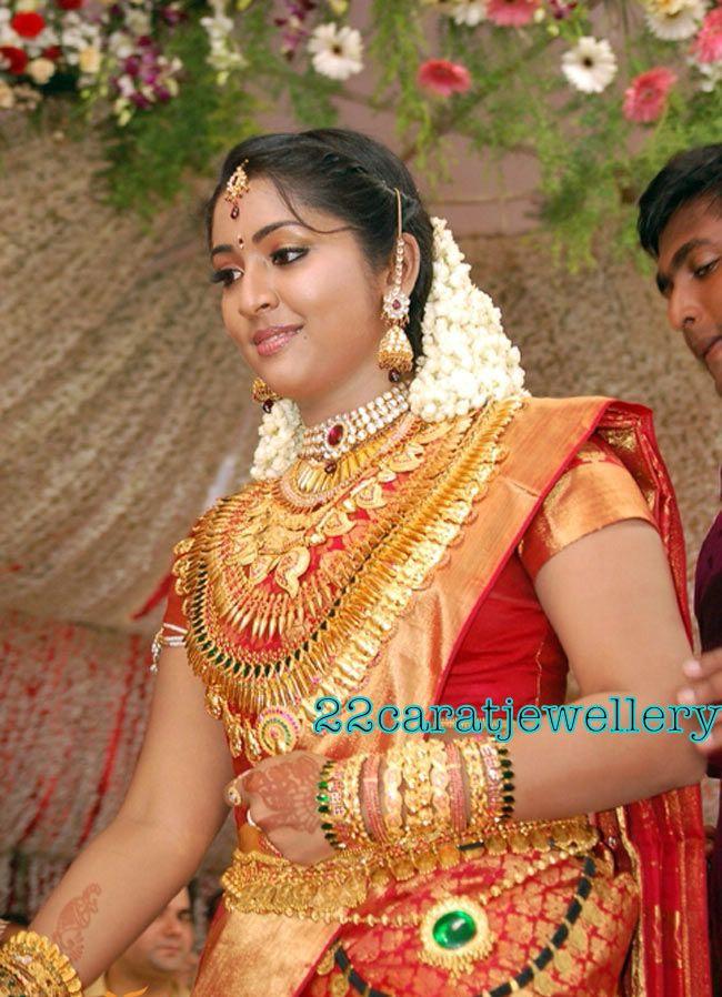 Navya Nair Mallu Actress Wedding Jewellery Jewellery