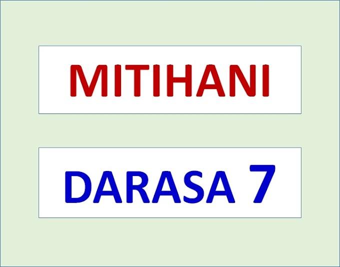 Mitihani ya Darasa la Saba