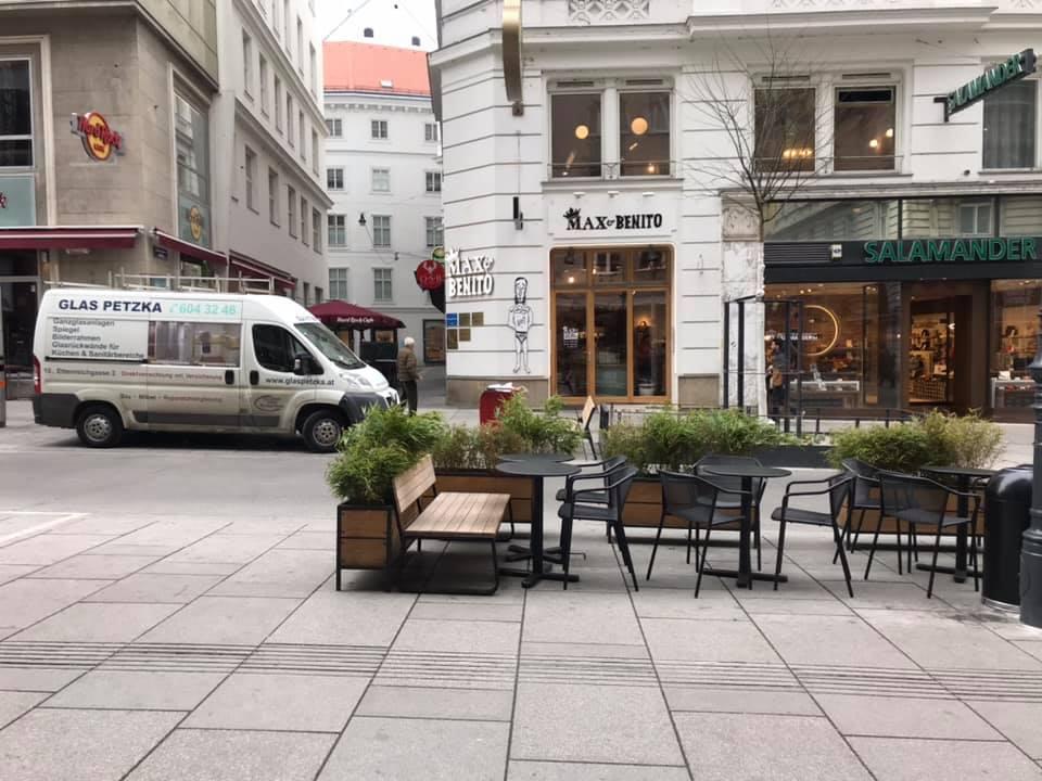 Vienna Day Before Lockdown
