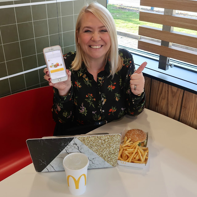 Mummy 'Me Time' At McDonald's