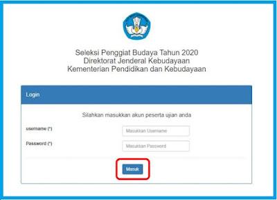 Soal Kemampuan Umum dan Teknis Kebudayaan Penggiat Budaya 2020 dan Cara Mengikuti Ujian Online Penggiat Budaya Tahun 2020