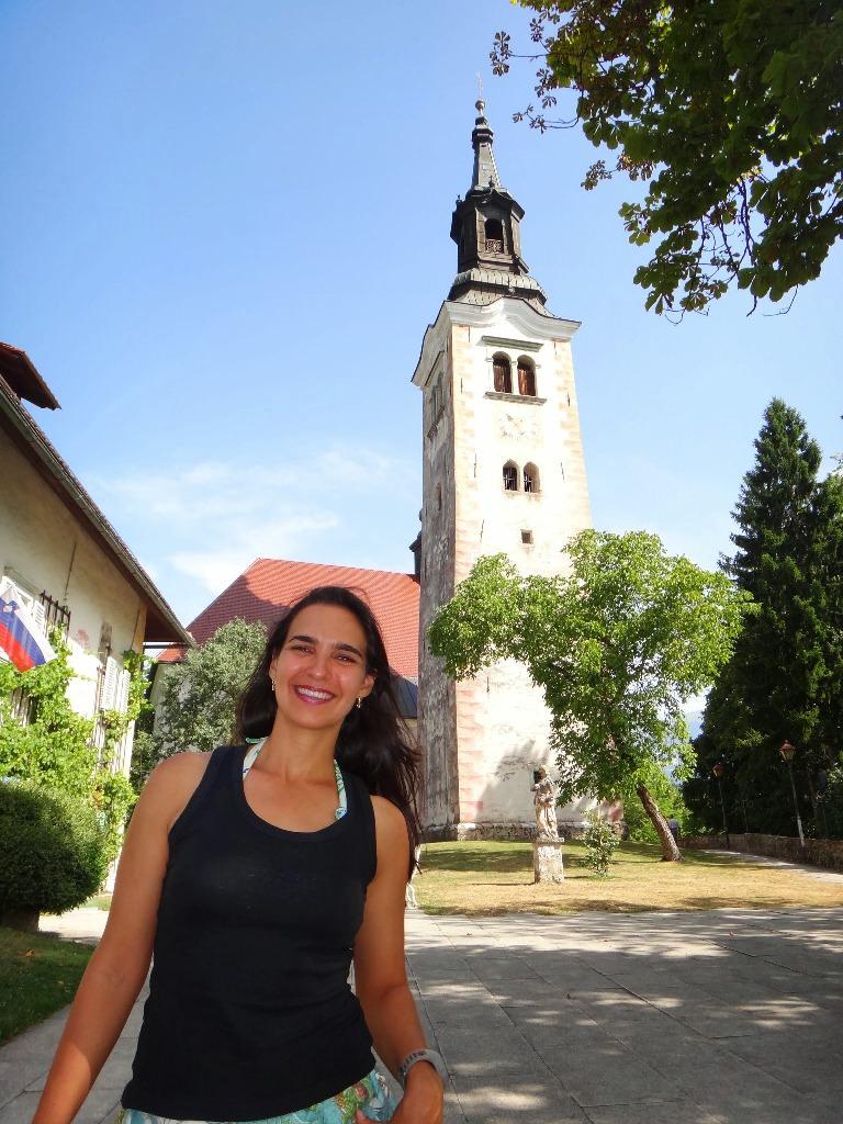 Como chegar a Igreja da Assunção de Maria em Bled