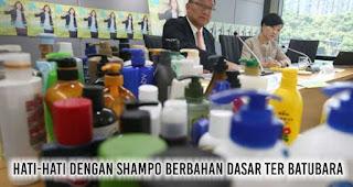 Hati-hati dengan shampo berbahan dasar ter batubara