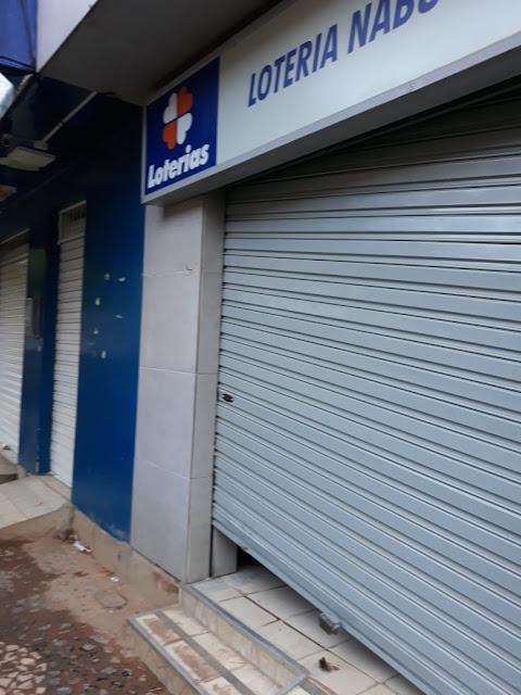 Casa Lotérica é arrombado durante a madrugada em Joaquim Nabuco