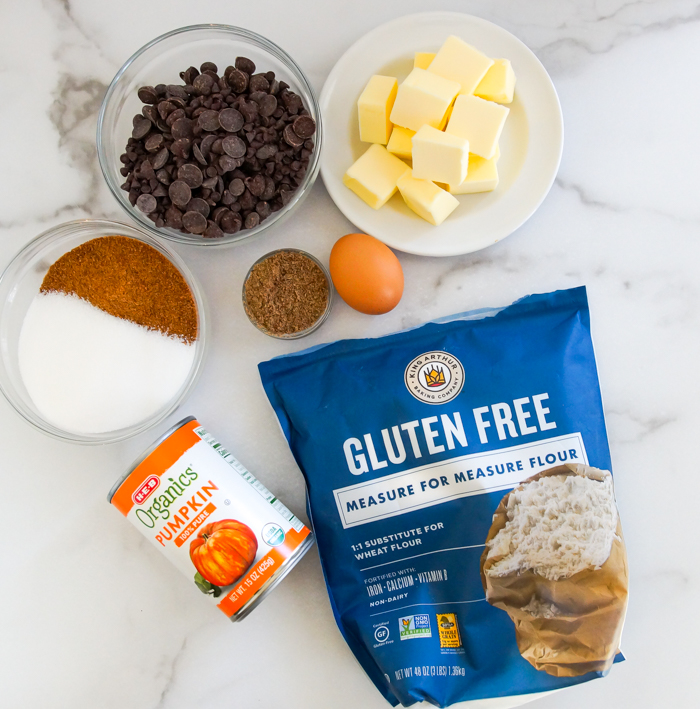 Gluten-Free Pumpkin Chocolate Chip Bars