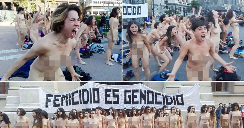 Marched completely naked in rio de janeiro - 1 10