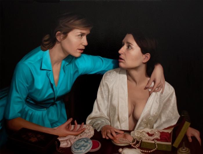 Искусственный и порочный мир. Laura Krifka