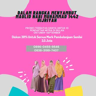 Promo Kemitraan Busana Muslim Surabaya